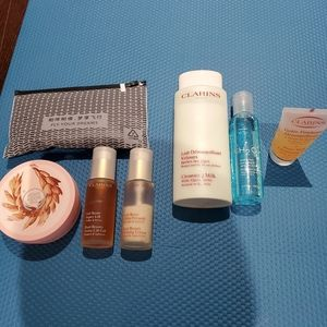 @all for $40@ Clarins face wash,buste lift lotions